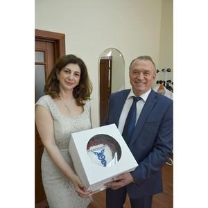 Президент ТПП РФ Сергей Катырин посетил московскую фабрику мороженого «Баскин Роббинс»