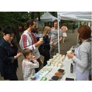 Алтайская продукция для красоты и здоровья стала открытием на фестивале вегетарианства