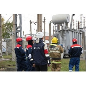 Филиал «Рязаньэнерго» принял участие в региональных учениях по ликвидации условной аварии