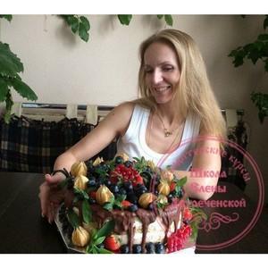 Кондитерские курсы от Елены Двуреченской – мастер-класс для тех, кто хочет делать сладости