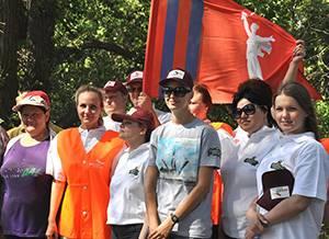 Сотрудники Волжского филиала ОАО «САН ИнБев»: «Нашим рекам и озерам – чистые берега»