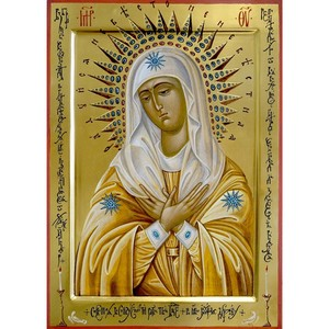 Икона «Умиление» в дар храму в честь иконы Божией Матери