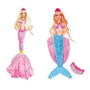 Окунемся в подводное царство вместе с Barbie®!