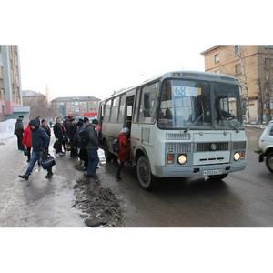 Активисты ОНФ в Коми провели мониторинг автобусных остановок в Сыктывкаре, Ухте и Сосногорске