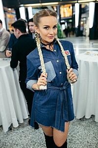 Модель и блогер Ангелина Волкова приняла участие в Fashion Battle.