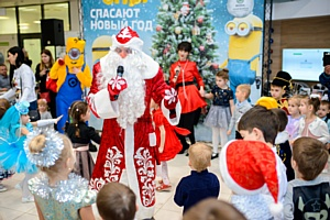 Рольф Витебский Skoda провел традиционную детскую Рождественскую елку