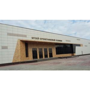 Музей бронетанковой техники в Прохоровке станет самым крупным и инновационным комплексом в России.