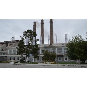 На Тимлюйском цементном заводе состоялась экологическая проверка
