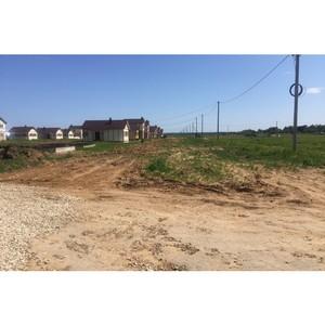 Активисты ОНФ держат на контроле развитие инженерной инфраструктуры в районе поселка Волжский