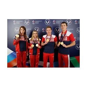 На церемонии награждения в Доме болельщиков в Баку отметили успехи кубанских гимнастов