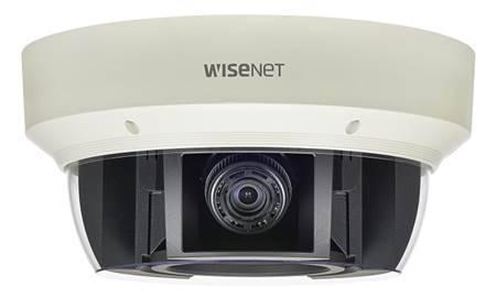 Купольная четырёхмодульная камера Wisenet Samsung PNM-9000VQ для эффективного видеонаблюдения
