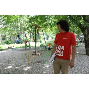 Активисты ОНФ в Кабардино-Балкарии провели мониторинг детских и спортивных площадок в Нальчике