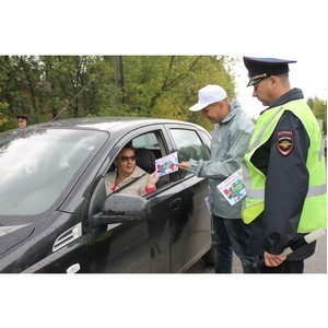 Ивановские активисты ОНФ напомнили школьникам о правилах дорожного движения