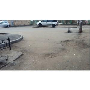 Активистов ОНФ возмутило некачественное благоустройство дворов в Воронеже