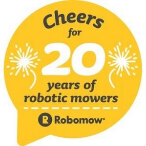 Robomow празднует 20-летний юбилей