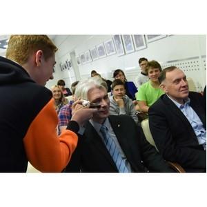 Проекты юных инженеров были представлены членам Свердловского РО СоюзМаш России, экспертам МЗИК