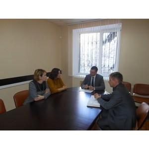 Участие представителей Кадастровой палаты в рабочей встрече с Управления Росреестра по СК