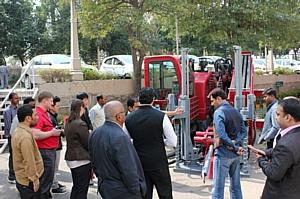 Презентация установки ГНБ Forward в Индии