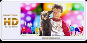 Видеопоздравления с днем рождения