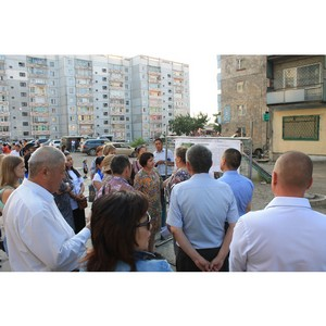 Активисты ОНФ принимают участие в обсуждении дизайн-проектов дворовых территорий Кызыла