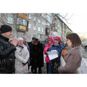 Активисты ОНФ проводят встречи с жителями Барнаула по вопросам благоустройства дворовых территорий