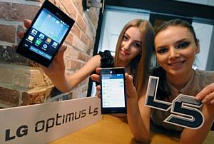 Мировая премьера нового стильного смартфона LG Optimus L5