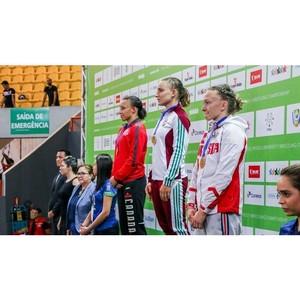 Александра Андреева завоевала бронзу чемпионата мира по вольной борьбе среди студентов