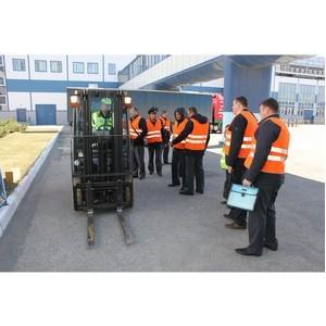 «Балтика-Самара» поделилась передовым опытом безопасной эксплуатации складского автотранспорта