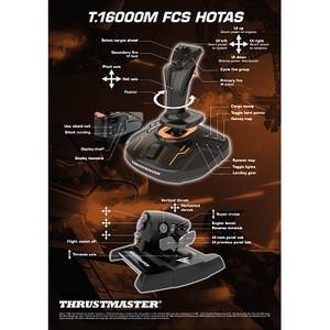 Thrustmaster и Elite Dangerous представляют систему T.16000M FCS HOTAS