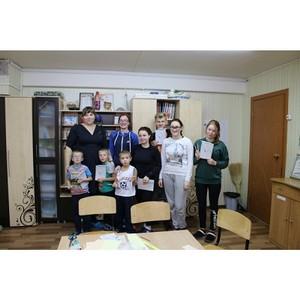 «Молодежка ОНФ» в Коми в рамках акции «Класс доброты» провела занятие по изготовлению экоручек
