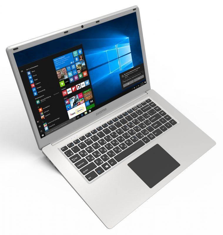 Бюджетный вариант полнофункционального устройства – ноутбук Digma EVE 605
