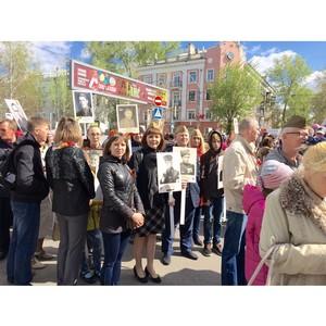 Активисты ОНФ в Алтайском крае приняли участие в праздновании Дня Победы