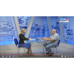 "Александр Лапин - в программе ""Вести. Интервью""."