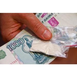 Полицейские Зеленограда задержали подозреваемого в незаконном обороте наркотических веществ