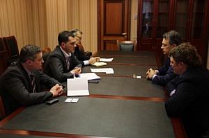 Замглавы ДВМС встретился с руководителем Представительства Правительства Республики Сербской