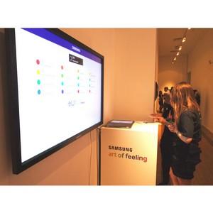 Samsung и ММОМА продолжают проект «Art of feeling» в рамках выставки «Другая часть нового мира»