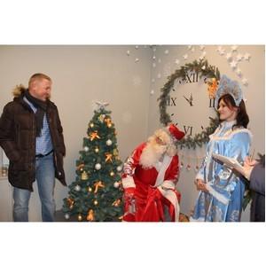 Новогоднее настроение работников Воронежского филиала «Евроцемент груп»