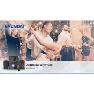 Новые микросистемы Hyundai H-HA240 и H-HA280 – качественный звук в компактном корпусе