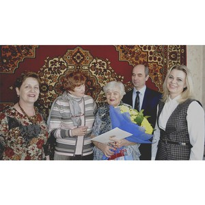 Участник Великой Отечественной войны кемеровчанка Нина Трубецкая отмечает свое 90-летие