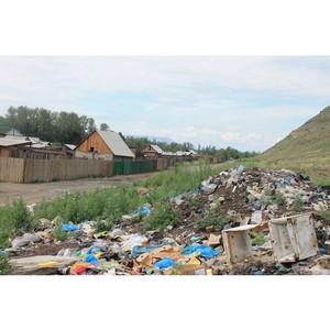Представители ОНФ в Тыве выявили места несанкционированного размещения отходов
