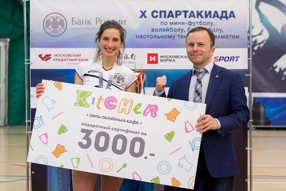 Сеть кафе Kitchen выступила партнером X спартакиады Банка России
