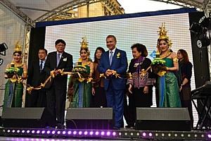 Осеннюю столицу раскрасил второй Тайский фестиваль