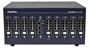 Новые многоканальные VoIP шлюзы AP2370-56S, AP2390-72S для IP телефонии