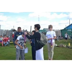 Активисты ОНФ в рамках проекта «Равные возможности – детям» провели сельские соревнования в Зауралье