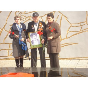 Ёнергетики поздравили ветеранов и тружеников тыла с 9 ма¤