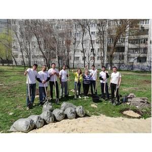 Активисты ОНФ в Волгоградской области приняли участие во всероссийском субботнике