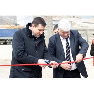 На «Липецкцементе» начал работу склад-магазин для мелкооптовых потребителей
