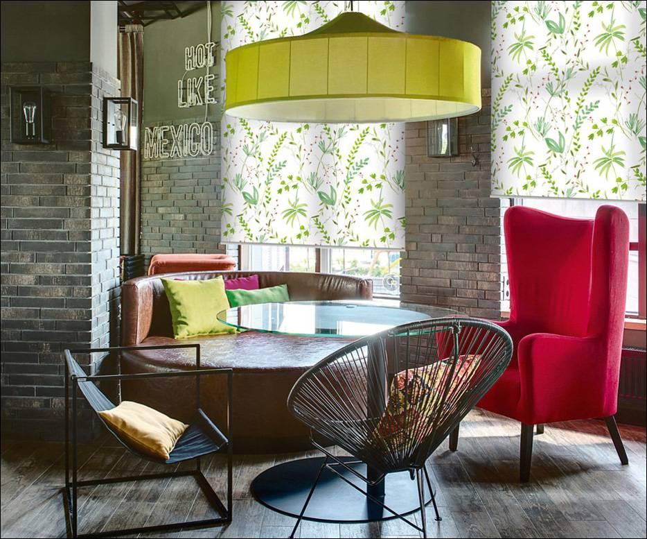 Выбор цвета рулонных штор. Модные советы от ТМ Foroom