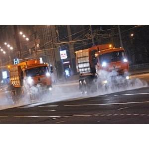 Московские дороги помоют перед зимой «Торнадо»