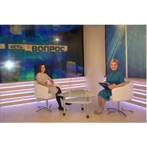 Управление Росреестра приняло участие в программе областного телевидения